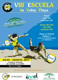 VIII ESCUELA DE VOLEY PLAYA