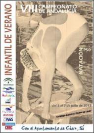 VIII Campeonato de Andalucía de natación infantil 2013